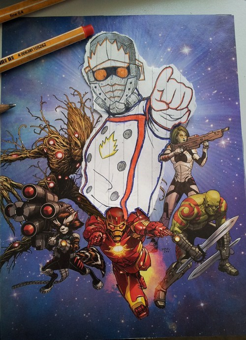 guardians of the galaxy star-lord - 8162019072