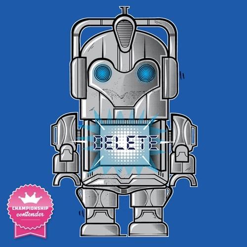 toys tshirts cute cybermen - 8162071296
