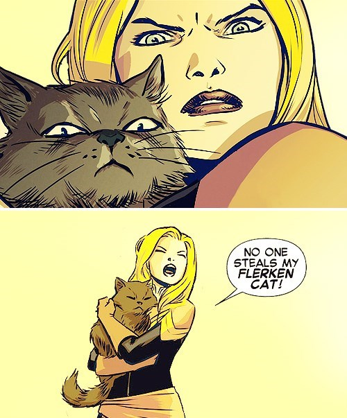 captain marvel Straight off the Page Cats - 8162125824