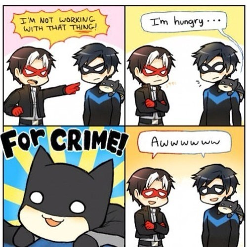 Chibi Batman Kills Crime With Cuteness