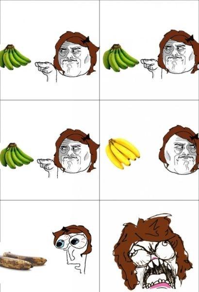 rage watching you banana