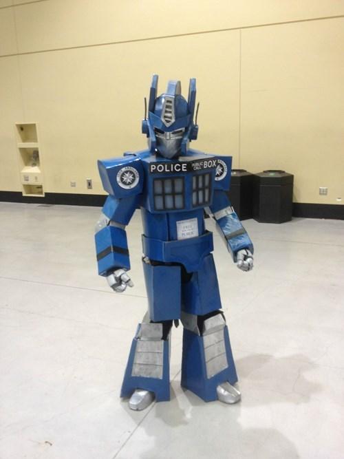 transformers,cosplay,tardis
