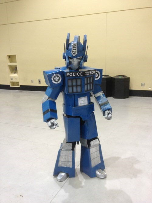 transformers cosplay tardis - 8162176000