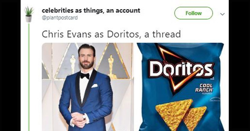 funny celebrities as things twitter threads
