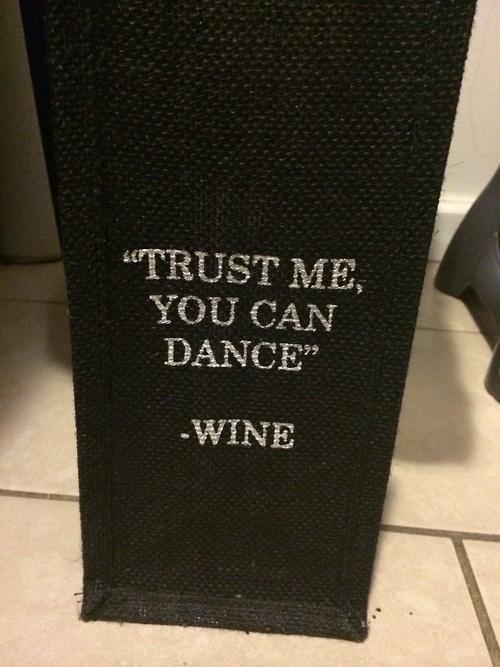 dancing drunk wine funny - 8162615040