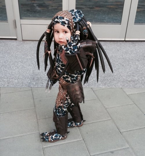 cosplay,kids,Predator