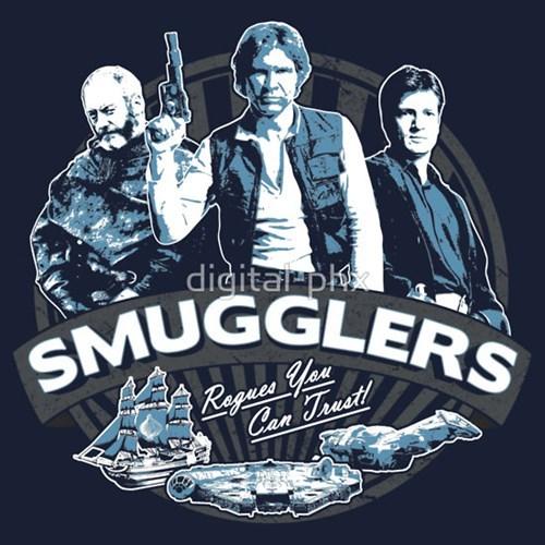 tshirts,davos,Han Solo,captain malcolm reynolds