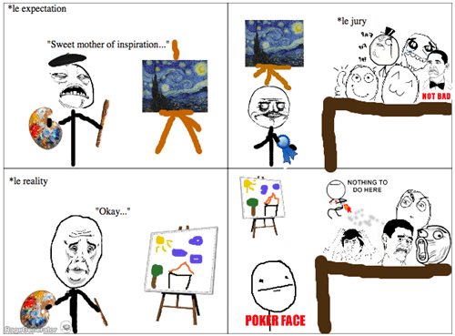 art contest expectation vs reality painting - 8163240448