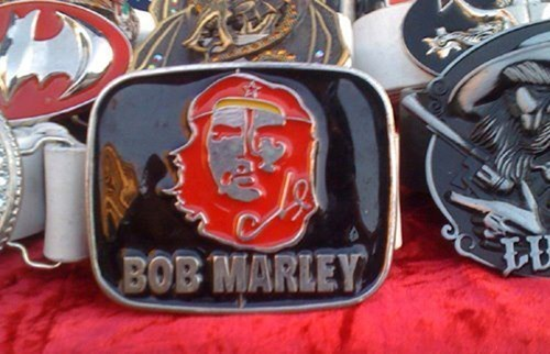 bob marley belt buckle Che Guevara poorly dressed g rated