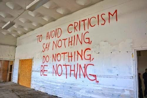 criticism,monday thru friday,work