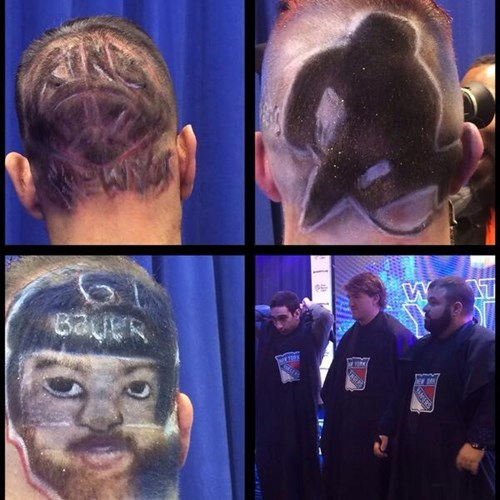hockey hair haircut poorly dressed sports New York Rangers - 8163558400