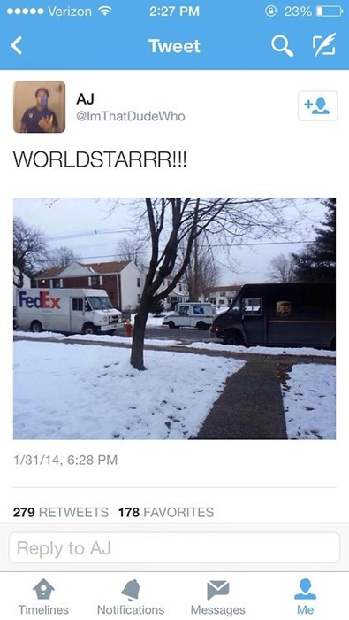 fedex,fights,UPS,worldstar