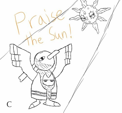 xatu dark souls solrock praise the sun - 8163752448