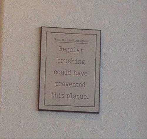 sign dentist puns - 8163898624