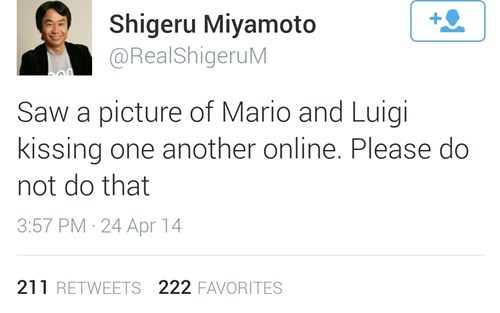 twitter,shigeru miyamoto,parody,nerdgasm,video games,failbook,g rated