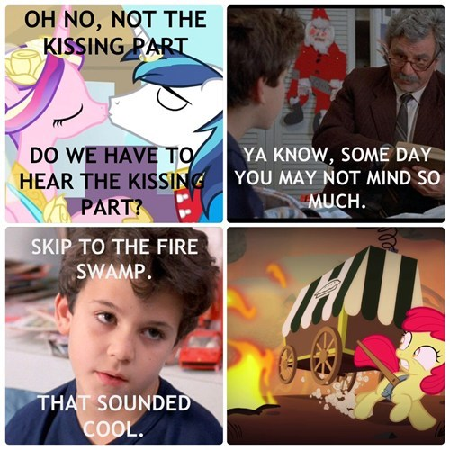 MLP princess bride fire swamp - 8164120832