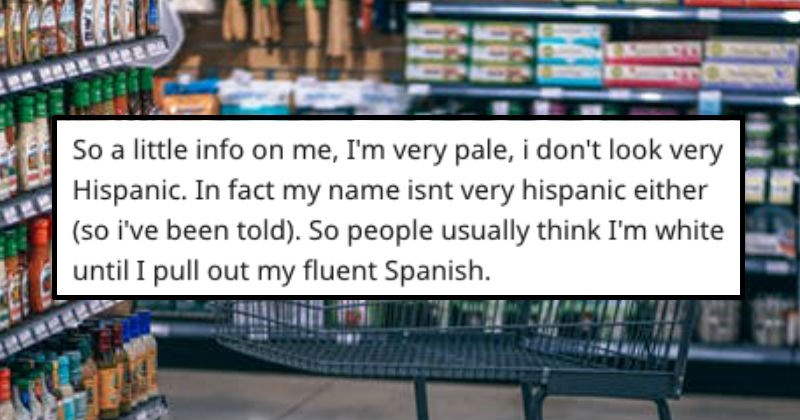 cashier turns out to speak same language as rude customer
