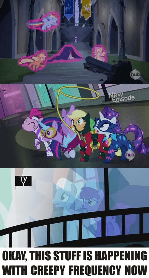 mane 6 wild and crazy ponies MLP - 8164596992