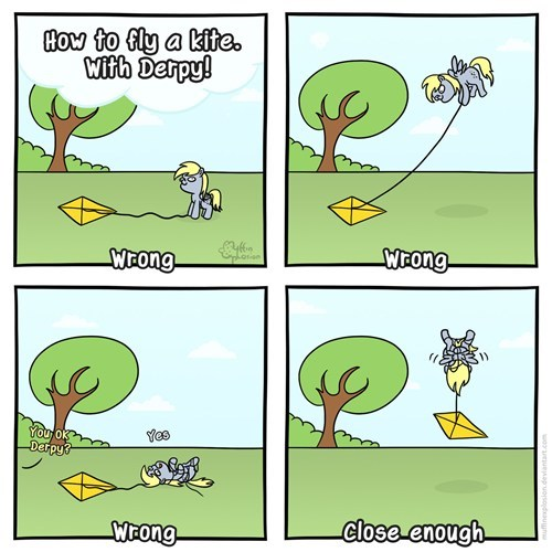 lets-go-fly-a-kite derpy hooves web comics - 8164670976