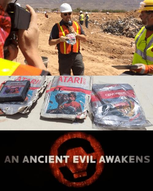E.T,evil,atari,video games