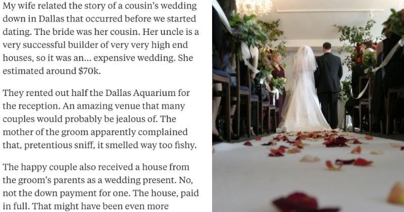 pretentious snobby weddings