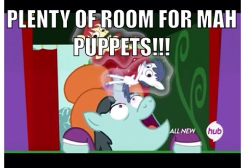 weirdo MLP puppets - 8164984064