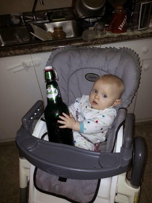 beer,baby,kids,huge,funny