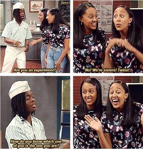 sister sister,good burger,dumb,twins