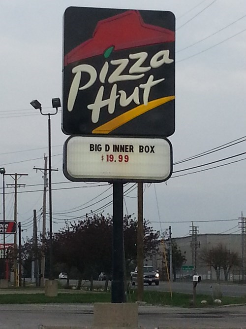 pizza hut signs store signs - 8166394368