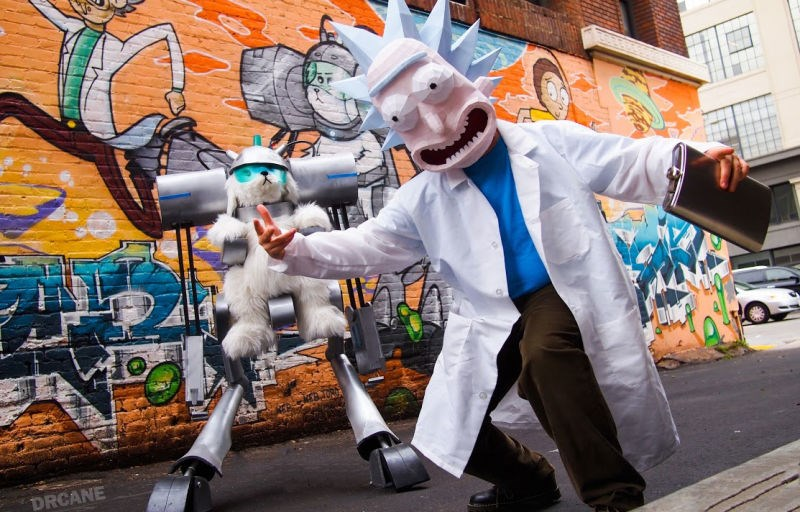 rick and morty,cosplay,list,image