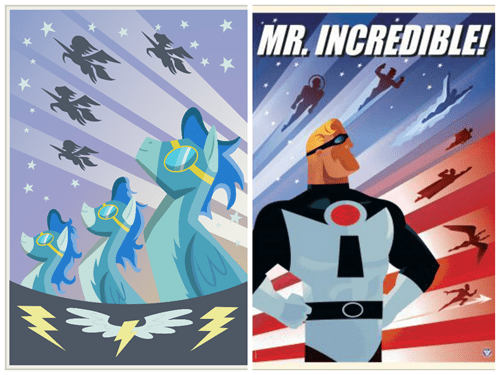 puns,wonderbolts,the incredibles