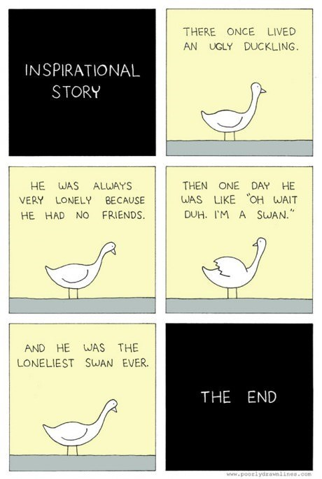 ducks story swans web comics - 8166778368