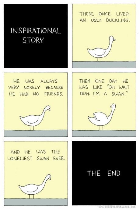 ducks story swans web comics - 8166778368