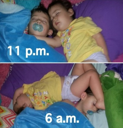 kids parenting sleeping