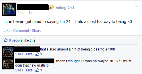 birthday facepalm math - 8166940928