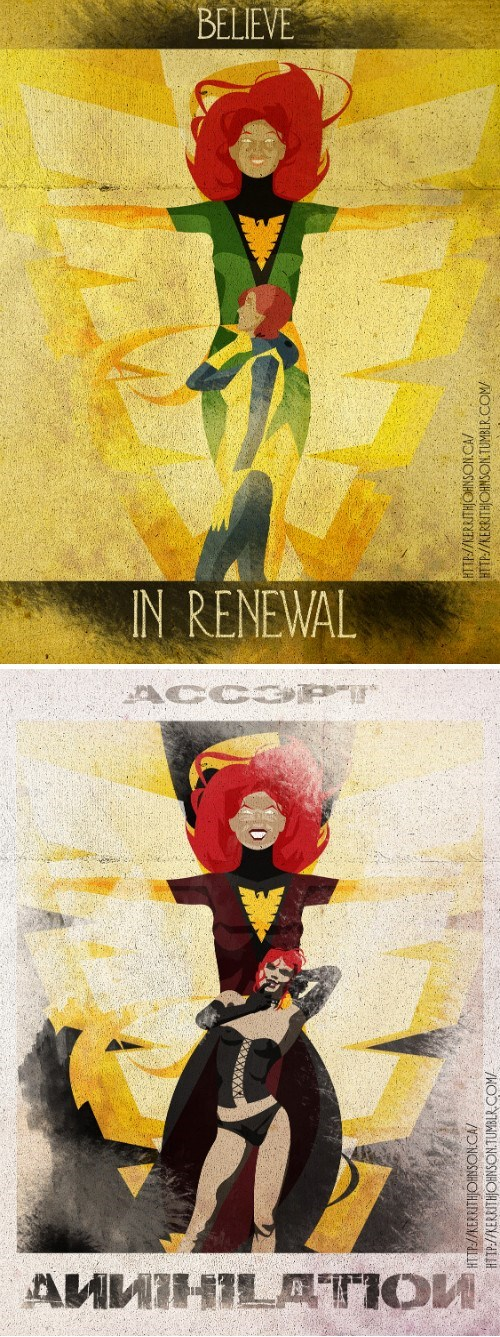 Fan Art phoenix jean grey - 8166941184
