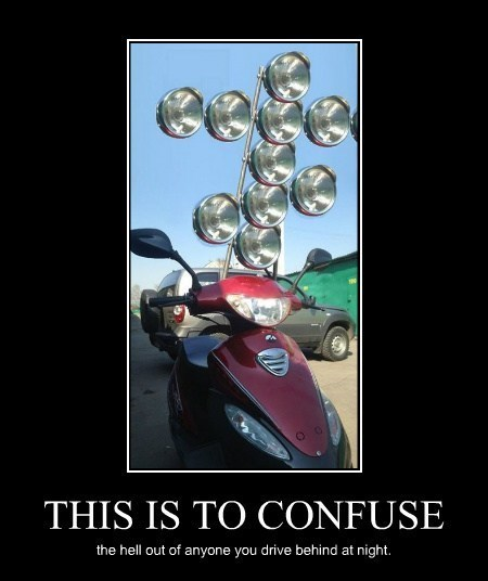 wtf lights scooter funny - 8166976768