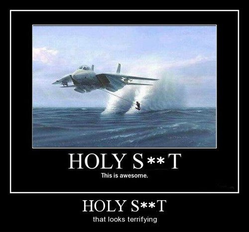 jet engine skiing funny - 8166979584