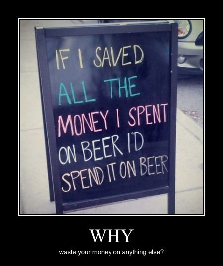 beer sign funny money - 8166979840