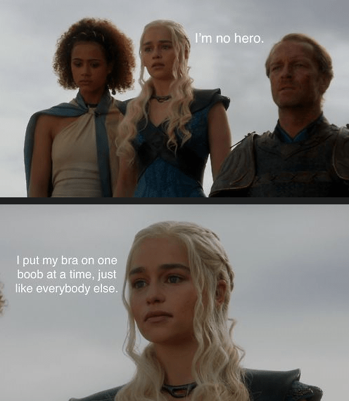 bra,Game of Thrones,bobs-burgers,Daenerys Targaryen