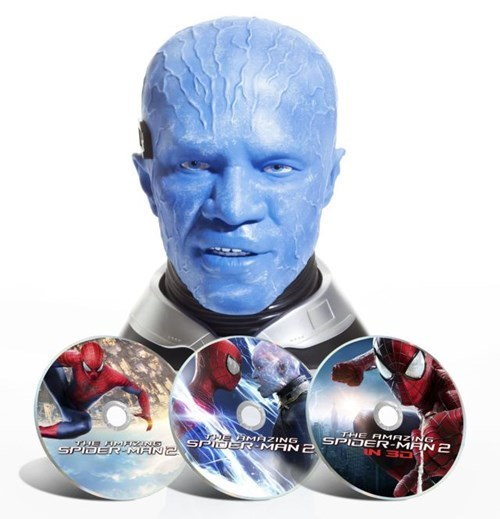 the amazing spider-man,electro,jamie foxx,blu ray