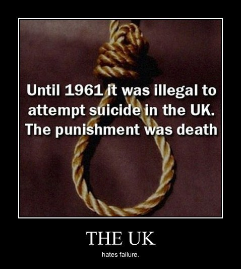 wtf suicide UK funny - 8167051776