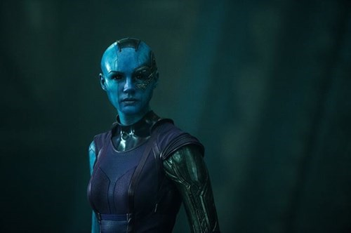 james gunn karen gillan nebula guardians of the galaxy - 8167065856