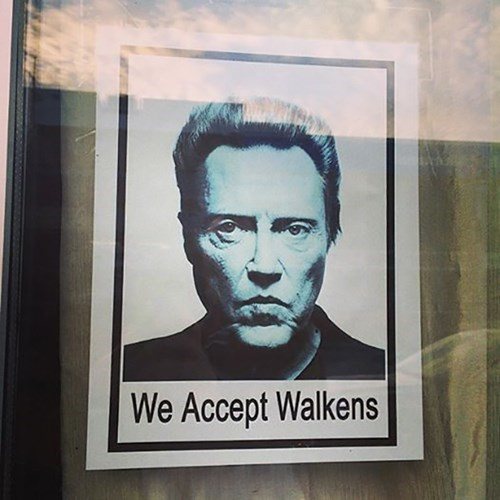 christopher walken funny puns
