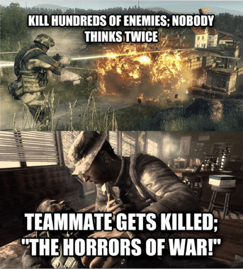 call of duty,first-person shooters,video game logic