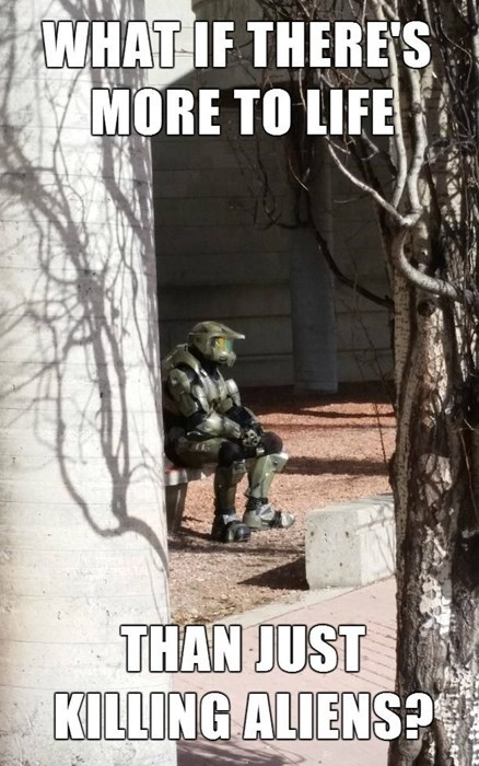IRL Sad master chief - 8167138560