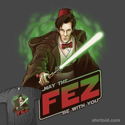 doctor who FEZ star wars tshirts - 8167146752
