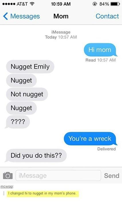autocorrect parenting texting - 8167160064