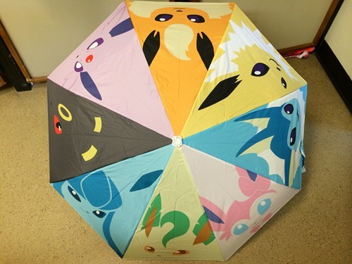 eeveelutions Pokémon umbrellas - 8167173120