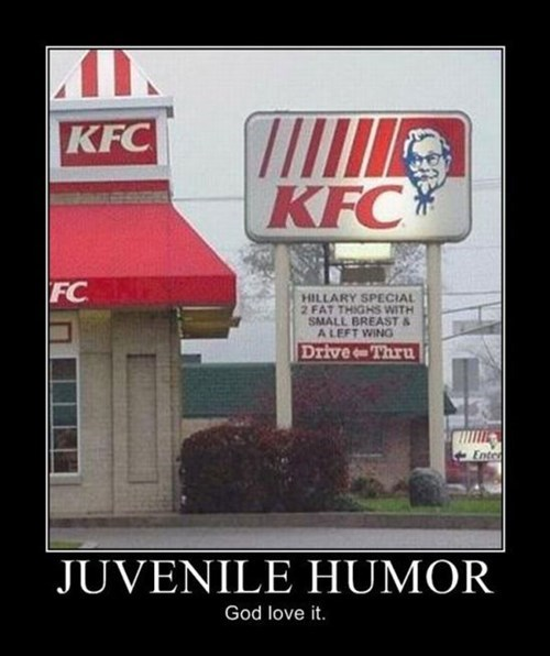 customers jokes juvenile funny kfc - 8167179520